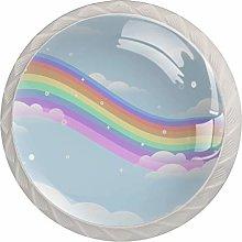 AITAI Rainbow くも Cute Round Cabinet Knob 4
