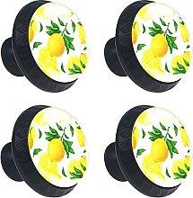 AITAI Set of 4 Door Knob Decorative Handle Fruit