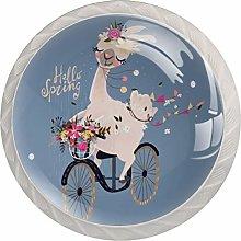 AITAI Unicorn 自転車 春 Round Cabinet Knob