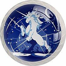 AITAI Unicorn 月 魔法 Round Cabinet Knob 4