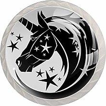 AITAI Unicorn Star 魔法 Round Cabinet Knob 4
