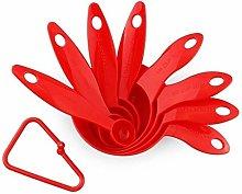 Aitaolian Red Reusable Measuring Tsp Scoop, Tsp