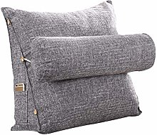 Aiviel Adjustable Support Cushion, Cotton Linen