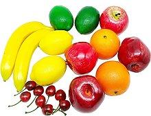 AIVORIUY 20pcs Artificial Fruit Set Realistic