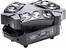 Aiyoudemutou Disco Lights DMX512 RGB LED DJ Party