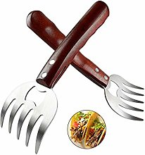 AIYUE Bear Claws Meat Shredder Barbecue Forks,