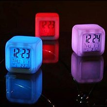 aiyvi Alarm Clock Digital Alarm Thermometer Night