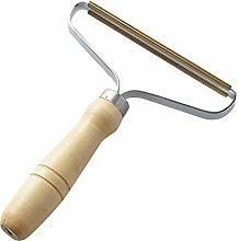 aiyvi Portable Lint Remover Manual Wooden Clothes