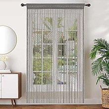 AIZESI 2PCS String Curtain Panel 90x200cm Door