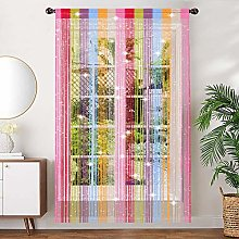 AIZESI String Door curtains Panel, Fly Screen
