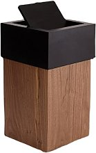 AJMINI Trash Can with Lid, Office Waste Basket,