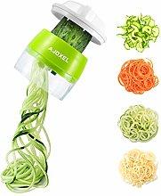 AJOXEL Vegetable Spiralizer Handheld, 4 In 1