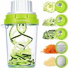 AJOXEL Vegetable Spiralizer Slicer, 5 in 1