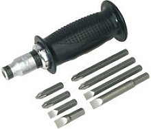 AK2082 10pc Impact Driver Set with Protection Grip