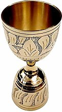 Akanksha Arts, Made of Brass,in Gold Finish Peg