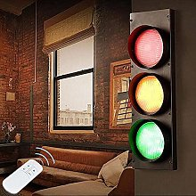 Akboy Traffic Signal Light Wall lamp with Switch