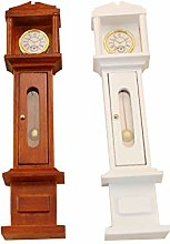 AKDSteel Simulate Grandfather Clock for 1:12 Doll