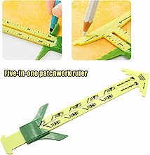 Akemaio Quilting Ruler 5 in 1 Measuring Sewing