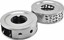 Akemaio Stainless Steel Warmer Tea Heater Teapot