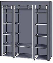 AKHAK Portable Clothes Closet Wardrobe Storage