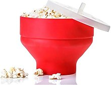 Akin Popcorn Maker, Collapsible Silicone Microwave