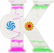 Akozon Dual Color Oil Timer, 1Pcs OK Shape Liquid