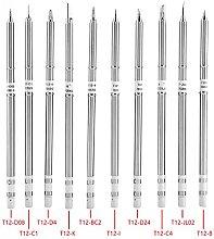 Akozon T12 Series Soldering Iron Tips Welding Tool