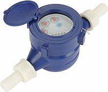 Akozon Water Meter, DN15 Garden Home Plastic Cold
