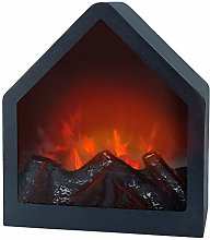 Aktive 35976 Electric Fireplace Fake Flame LED