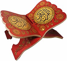Al-Quran Book Stand Foldable Wooden Rehal AMN-191