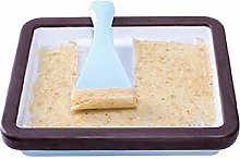 Alacritua Instant Ice Cream Maker Pan With Ice