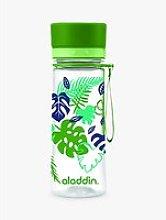 Aladdin Aveo Leaf Print Water Bottle, 350ml, Green