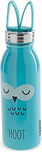 Aladdin Water Bottle, Stainless Steel, Blue, 0.43L
