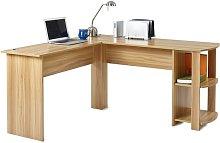 Alaina L-Shape Computer Desk Zipcode Design