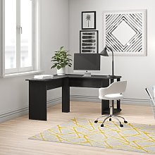 Alaina L-Shape Computer Desk Zipcode Design