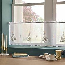 Alan Symonds Christmas Tree Eyelet Top Voile Cafe