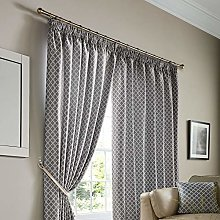 Alan Symonds Jacquard Curtains Pencil Pleat Taped