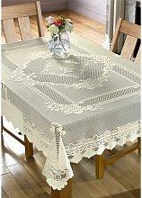 Alan Symonds - Monica Lace Tablecloth Cream Rose