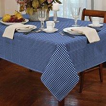 Alan Symonds Tablecloths Gingham Tablecloth Blue