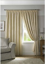Alan Symonds - Tivoli, Cream Lined Curtains,
