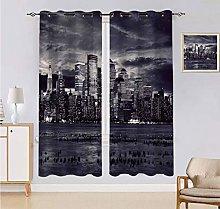 Alandana City Curtains, Dramatic View of New York