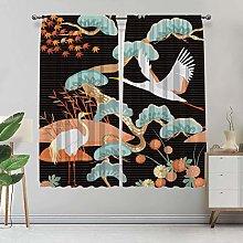 Alandana Crane Custom-made Curtain, Crane Bird