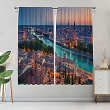 Alandana European Custom-made Curtain, Verona
