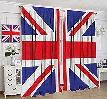 Alandana Union Jack Blackout Curtains, Classic