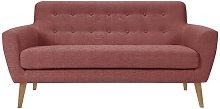 Alaniz 2 Seater Sofa Isabelline Upholstery Colour: