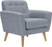 Alaniz Chair Isabelline Upholstery Colour: Grey