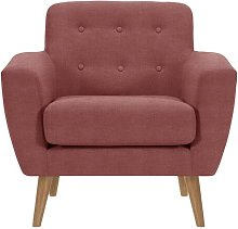 Alaniz Chair Isabelline Upholstery Colour: Rose
