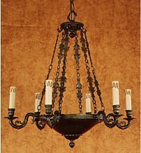 Alannah 6 Light Candle Chandelier Union Rustic