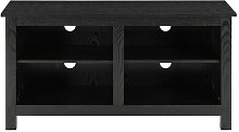 Alanson Wood Storage Media TV Stand for TVs up to