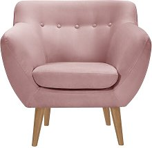 Alaric Chair Isabelline Upholstery Colour: Blush